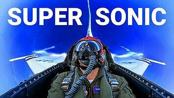 Supersonic z pilotami Sił Powietrznych Stanów Zjednoczonych