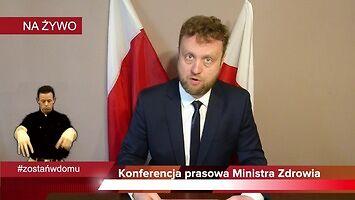 Minister Zdrowia odpiera zarzuty!