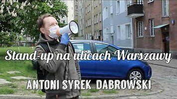 Antoni Syrek-Dąbrowski wyszedł na ulice Warszawy rozśmieszyć kierowców