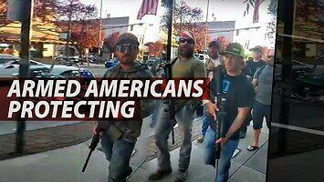 Jak ludzie w USA szykują się do obrony swoich miast i własności