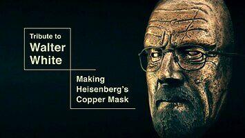 Polski rzemieślnik wykuwa twarz Waltera White'a z Breaking Bad