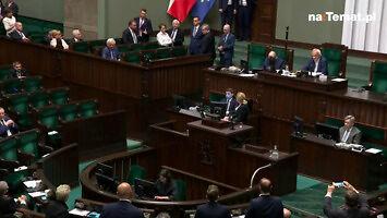 Nocne kłótnie w Sejmie
