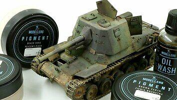 Budowa modelu japońskiego czołgu