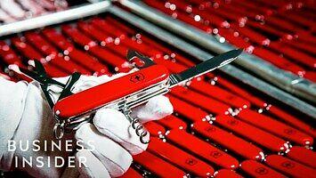 Jak produkuje sie 45 000 scyzoryków szwajcarskich dziennie?