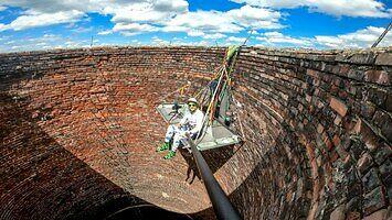 Biwak w kominie - 120 metrów nad ziemią || BNT