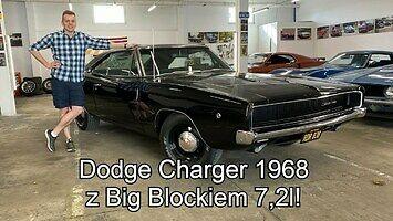 Przejażdżka klasycznym Dodgem Chargerem z 1968 r.