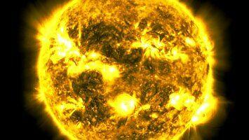 Astronomowie pokazali film poklatkowy obrotu Słońca w ciągu 10 lat