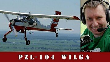 PZL-104 Wilga - w końcu udało się  nim polatać