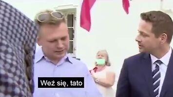 """""""No odmień być"""" w wykonaniu Trzaskowskiego i Luke'a Marcinkiewicza"""