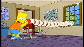Simpsonowie i zabawa megafonem