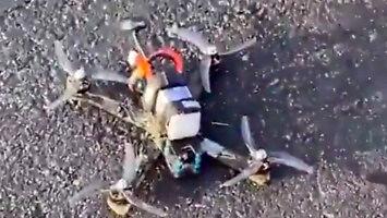 Samodzielnie zbudowany dron