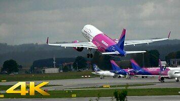 Dwa nowe Airbusy A320 NEO startują z Gdańskiego lotniska