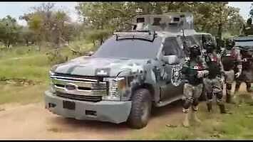Siły meksykańskiego kartelu