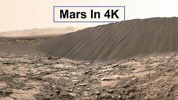 Nowość - zobaczcie Marsa w 4K