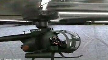 Prawdziwy Macgyver buduje helikopter ze złomu