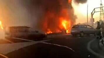Potężna eksplozja na stacji paliw w Rosji