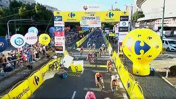 Makabryczny wypadek na finiszu 1. etapu Tour de Pologne 2020