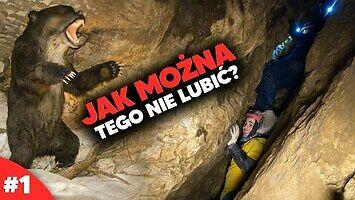 Kawiak Jones i najbardziej ekstremalna trasa jaskiniowa w Polsce - Jaskinia Niedźwiedzia #1