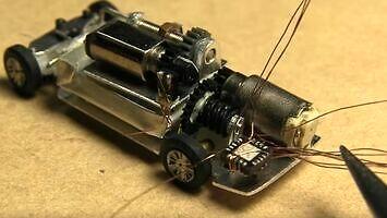 Tworzenie samochodzika RC w skali 1:150