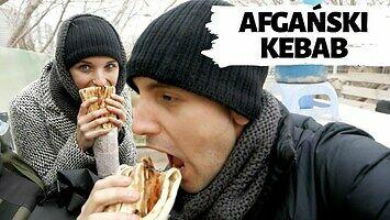 Pierwszy kebab w Afganistanie