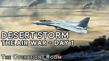 Skrót pierwszego dnia Operacji Pustynna Burza