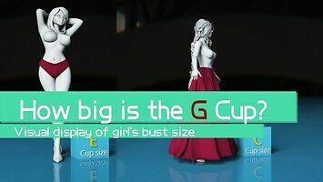 Jak duży jest biust w rozmiarze G?