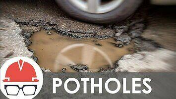 Jak powstają dziury w drogach?