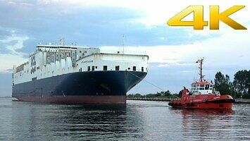 Atlantic Star - prawie 300-metrowy kolos wpływa do gdańskiej stoczni