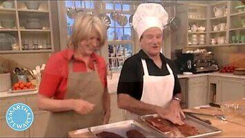 Odrobina śmiechu w kuchni z Robinem Williamsem