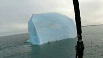 Góra lodowa ich przechytrzyła
