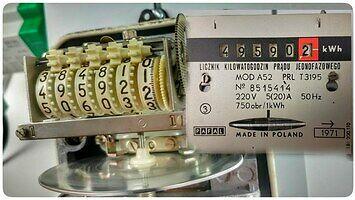Jak to działa? Indukcyjny licznik energii elektrycznej 230V