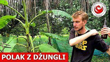 Zamieszkał w dżungli i utrzymuje się z produkcji piwa