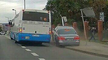 Sosnowczanin spieszył się na autobus