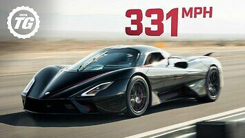 532 km/h - nowy rekord prędkości pobity przez SSC
