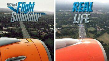 Symulator lotów na mapie świata vs rzeczywistość