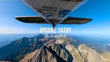 Przelot nad Tatrami Wysokimi i niezwykłe nagranie 360° z podpisanymi miejscami