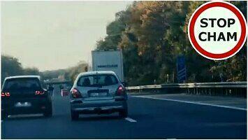 Polscy kierowcy na niemieckich autostradach
