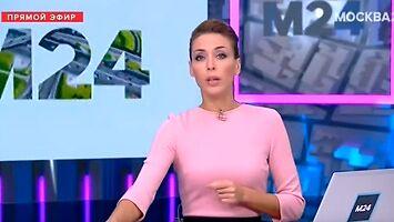 Buchająca para ze studzienek w Moskwie