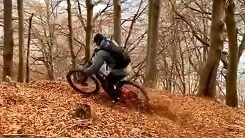 Jesienna przejażdżka rowerem