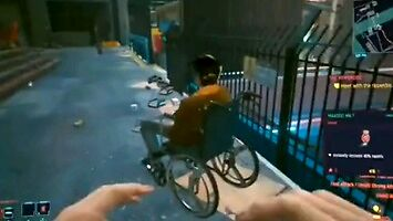 Niepełnosprawni w Cyberpunk 2077