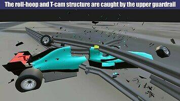 Bahrain 2020 F1 - analiza wypadku