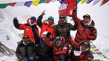 Szczyt K2 zdobyty zimą! Dokonali tego Szerpowie