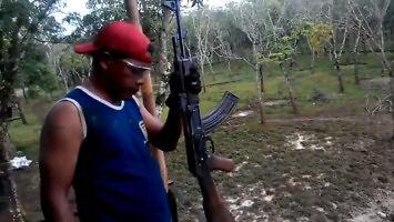 Ćwiczenia indonezyjskich żołnierzy