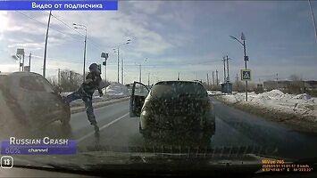 Jak uratować pieszych na przejściu, wersja rosyjska