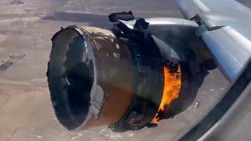 Kiedy w samolocie wybucha silnik