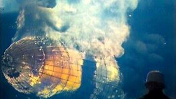 Katastrofa Hindenburga w 4k i 50fps