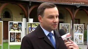 Andrzej Duda o krytykowaniu prezydenta
