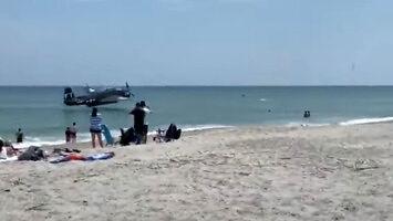 Plaża Cocoa - wodowanie w oceanie