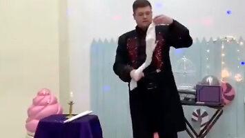 Pokaz magika w Rosji