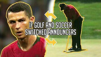 Komentator golfa w piłce nożnej i na odwrót
